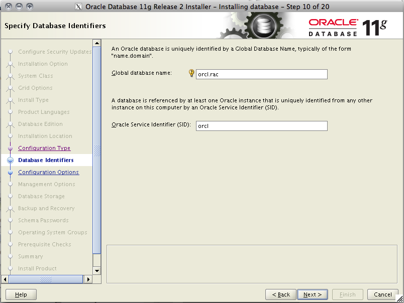 Oracle 11g R2 installation on Solaris 10 x64