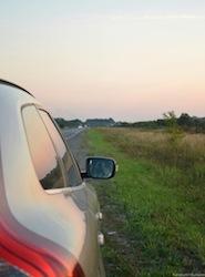 car side shot