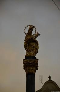 Чумной столп. Площадь Республики