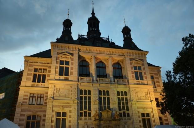 Здание музея Западной Богемии