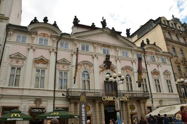 Архитектура зданий Праги