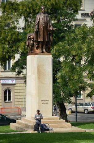 Памятник Вудро Вильсону