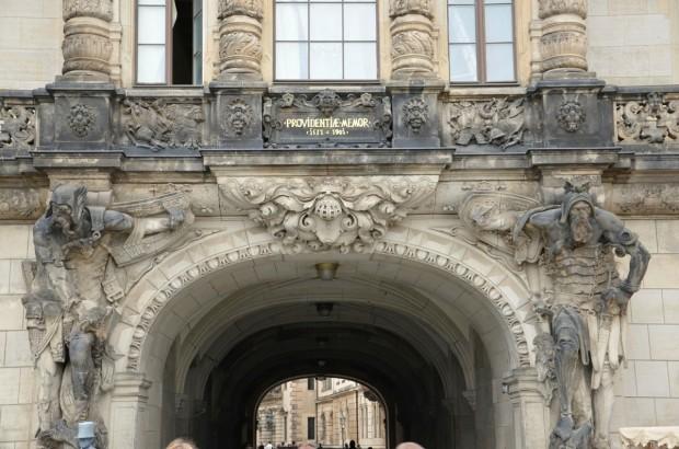 Архитектура Дрезденского замка