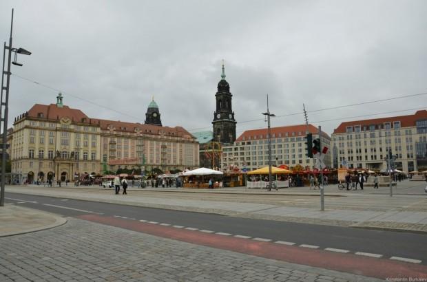 На площади Альтмаркт