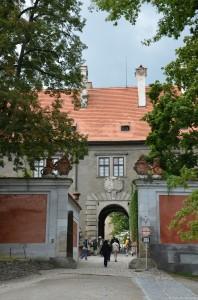 Вход в Замок Чешский Крумлов
