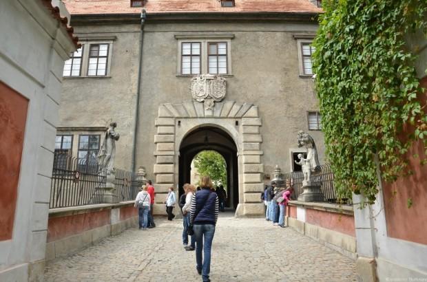 Мост в Замок Чешский Крумлов
