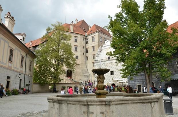 Архитектура Нижнего замка Чешский Крумлов