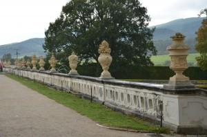 Верхний парк в замке Чешский Крумлов