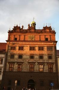 Площадь Республики. Старое здание ратуши. 1559г.