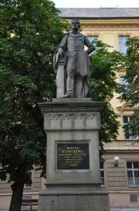 памятник Мартину Копецки