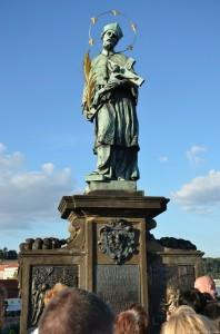Скульптура на Карловом мосту