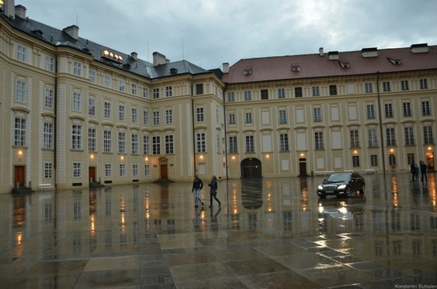 третий двор Пражского града