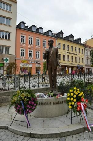 памятник Томашу Гарику Масарику
