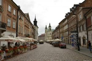 Варшава. Архитектура города