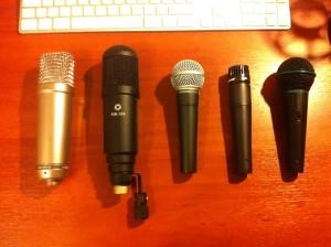 5 mics